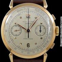 Patek Philippe Vintage 18k Rose Gold Ref 1579 Chronograph...
