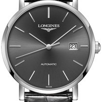 Longines Elegant Steel 39mm Black United States of America, New York, Airmont