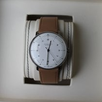 Junghans max bill Automatic Stal 38mm Srebrny