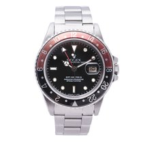 Rolex Gmt-master II 16760 Mens Automatic Watch Fat Lady...