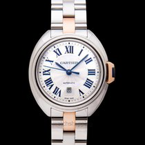 Cartier Clé de Cartier Steel 31mm Silver United States of America, California, San Mateo