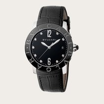 Bulgari Bulgari Steel 37mm Black No numerals