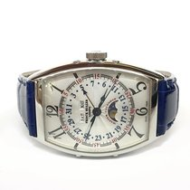 Franck Muller White gold 34mm Automatic 6850 MC L pre-owned United States of America, New York, New York