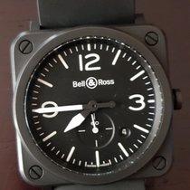 Bell & Ross usados Cuarzo 39mm Negro Cristal de zafiro 10 ATM