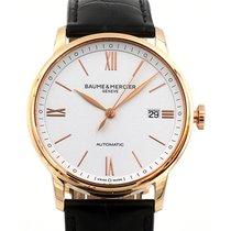 Baume & Mercier Classima 39 Date White Dial