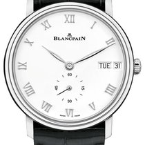 Blancpain Villeret new 2019 Automatic Watch with original box and original papers 6652-1127-55B