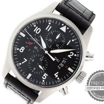 IWC IW377701 Steel Pilot Chronograph 43mm pre-owned United States of America, Pennsylvania, Willow Grove