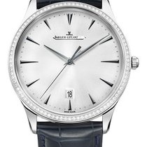 Jaeger-LeCoultre Master Ultra Thin Date White gold 40mm Silver United States of America, New York, New York