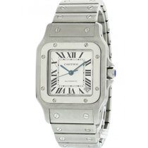 Cartier Santos Galbée pre-owned 32mm Steel