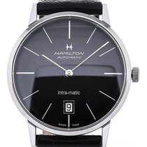 Hamilton Intra-Matic Steel 38mm Black