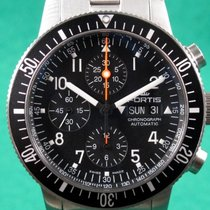 Fortis 638.10.11 M Acero 2018 B-42 Official Cosmonauts 42mm