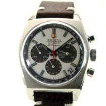 Zenith El Primero pre-owned Chronograph Date Leather