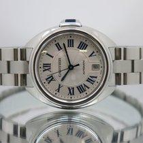 Cartier Clé de Cartier Сталь 35mm Cеребро Римские