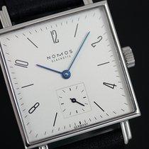 NOMOS Tetra Steel 29,50mm Silver Arabic numerals