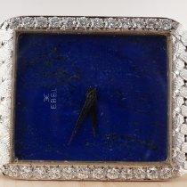 Ebel Beyaz altın Elle kurmalı Mavi Sayılar yok 30mm ikinci el