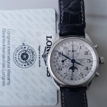 Longines Master Collection pre-owned Crocodile skin