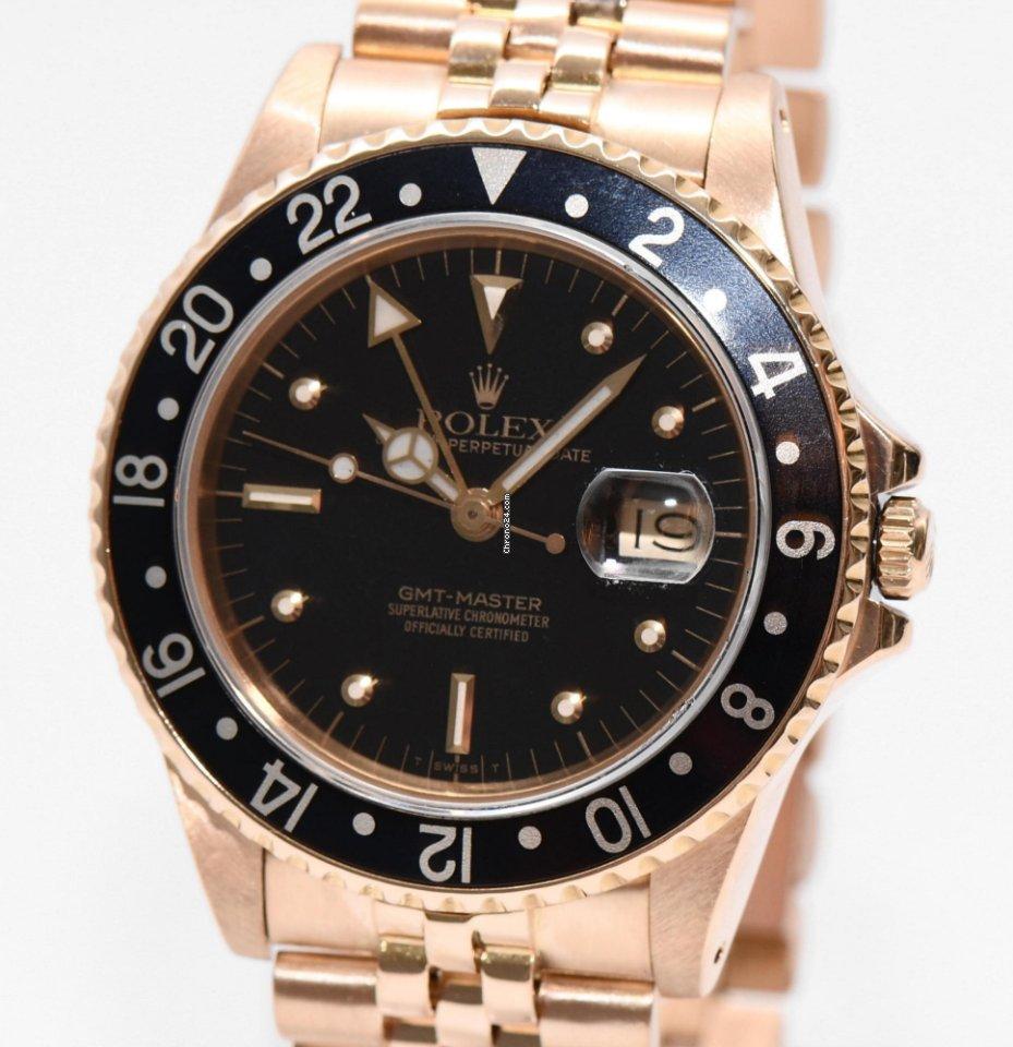 Master Box Gmt Gold 16758 Nipple Dial Papiere 1989 Rolex nO8wkXN0P