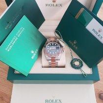 Rolex GMT-Master II Gold/Stahl 40mm Schwarz Keine Ziffern Schweiz, Opfikon