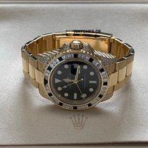 Rolex 116758SANR Zuto zlato GMT-Master II 40mm rabljen