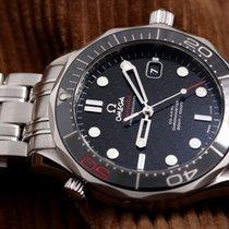 Omega Seamaster Diver 300 M Stahl 41mm Schwarz Keine Ziffern