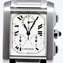 Cartier Tank Française Steel 28mm Silver Roman numerals United States of America, Florida, 33431