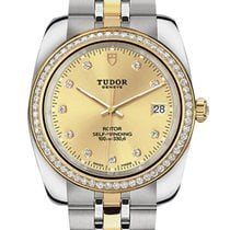 Tudor Gold/Steel 28mm 22023-0012 new