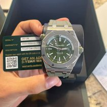 Audemars Piguet 15710ST.OO.A052CA.01 Steel 2019 Royal Oak Offshore Diver 42mm pre-owned United States of America, California, los angeles