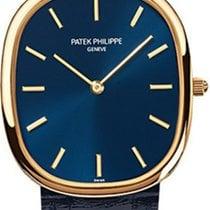 Patek Philippe Golden Ellipse Rose gold 31,1mm Blue No numerals