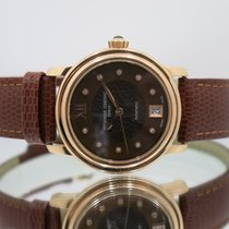 Frederique Constant pre-owned Automatic 34mm Brown Sapphire crystal 6 ATM