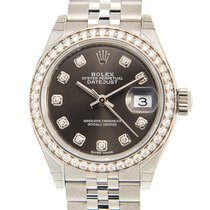 勞力士 Lady-Datejust 金/鋼 28mm 灰色 香港, Kowloon
