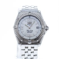 Breitling Wings Lady Acero 31.5mm Blanco