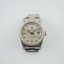 Rolex DAY-DATE PLATINO E DIAMANTI