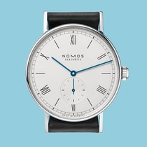 NOMOS Ludwig 38 new 2020 Manual winding Watch with original box and original papers 235