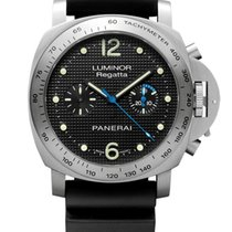 Panerai Luminor Regatta Chronograph Steel Limited Edition PAM...