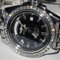 Breitling Headwind Steel 43mm Black No numerals