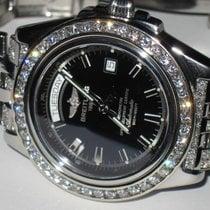 Breitling Headwind Steel 43mm Black No numerals United States of America, New York, NEW YORK CITY
