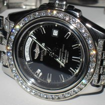 Breitling Headwind Stainless Steel Automatic Diamonds