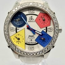 Jacob & Co. Five Time Zone Diamond 47 MM FACTORY SETTED