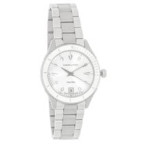 Hamilton Jazzmaster Seaview Ladies Stainless Quartz Watch...