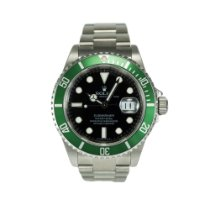 Rolex Submariner Date Green Bezel Black Dial 16610LV
