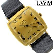 Omega De Ville 161022 Square yellow Gold 18KT automatic 1965's