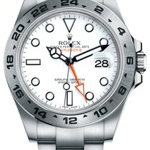 Rolex Explorer II Steel 42mm White No numerals United States of America, Florida, Hollywood