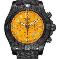 Breitling Avenger Hurricane Titanium 50mm Yellow