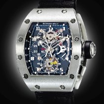 Richard Mille An Impressive Platinum Tonneau Form Tourbillon...
