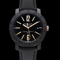 Bulgari Bvlgari Bvlgari Carbon Gold Black Carbon-Gold/Leather...