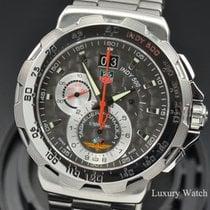 TAG Heuer Formula 1 Quartz pre-owned 44mm Grey Chronograph Date Steel