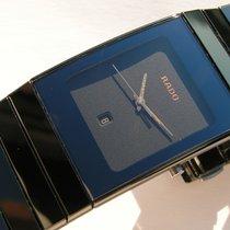 Rado usados Cuarzo 27mm Negro Cristal de zafiro No resistente al agua