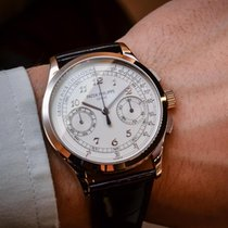 Patek Philippe NEW Complications Chronograph Silvery White...