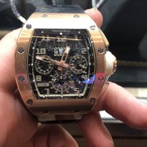 Richard Mille Chronograaf 50mm Automatisch tweedehands RM 011 Doorzichtig