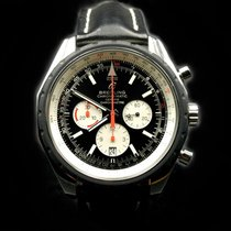 Breitling Chrono-Matic 49 Steel 49mm Black No numerals